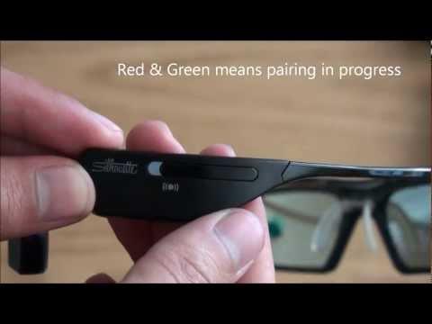 b531fbc4e My Samsung SSG-3500CR 3D Active Glasses (unboxing) - YouTube