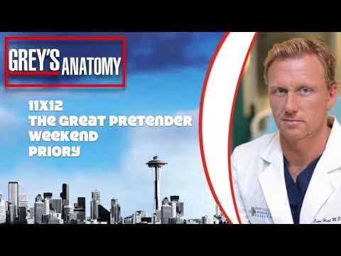 """Grey's Anatomy Soundtrack - """"Weekend"""" by Priory (11x12)"""