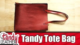 Tandy Tote Bag - FREE PATTERN and DIY - Pinners Pattern
