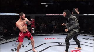 Khabib vs. Goliath - EA Sports UFC 4 - Champion Fight