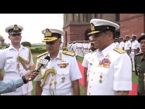 Admiral Sunil Lanba on SAR Ops for Missing AN-32 Aircraft And Visit of Malaysian CNS Admiral Tan Sri