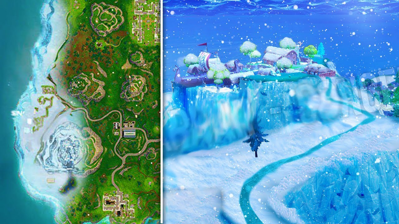 New Season 7 Snow Map Confirmed In Fortnite Snow Storm Snow