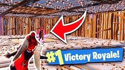 IMPOSSIBLE SPIKE TRAP *WIN* IN FORTNITE BATTLE ROYALE!!! (Fortnite Battle Royale Solo Win Gameplay)