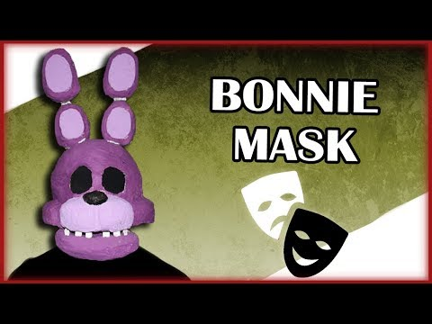 How to Make: Bonnie Mask (FNAF)