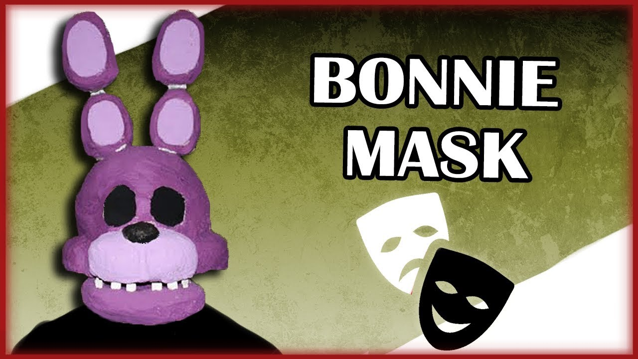 photograph relating to Five Nights at Freddy's Printable Mask named How in direction of Produce: Bonnie Mask (FNAF)