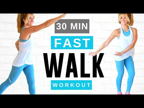 30 Minute LOSE WEIGHT Indoor Walking Workout For Women Over 50! Fabulous50s