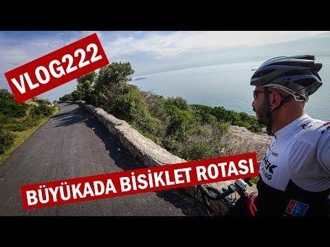 Büyükada'da Bisiklet turu  | Asla Durma Bisiklet Vlog #222