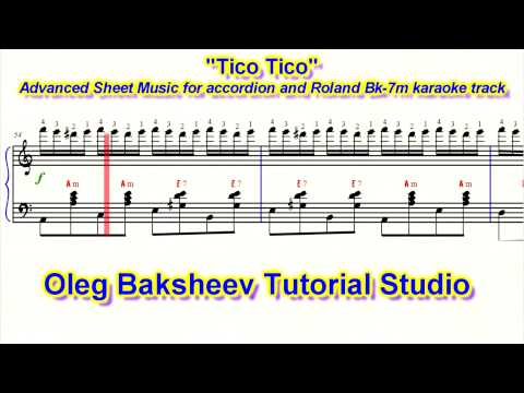 Tico Tico Accordion Sheet Music Review