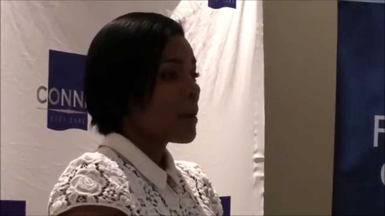 Connie Ferguson launches Body Care Products for men - YouTube