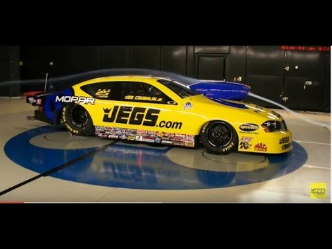 Jeg Coughlin Jr. JEGS High Performance  Mopar Pro Stock Testing 2012