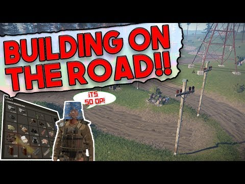Building A Base On THE ROAD?!   Rust SOLO Survival   The Vanilla Wipe - #1