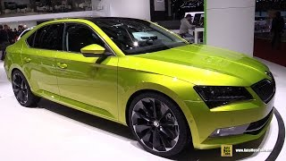 2016 Skoda Superb 4x4 - Exterior And Interior Walkaround - 2015 Geneva Motor Show