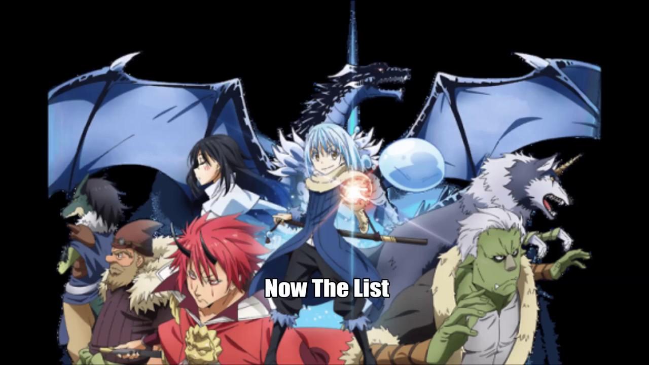 Top 25 Strongest Tensei Shitara Slime Datta Ken Characters Youtube