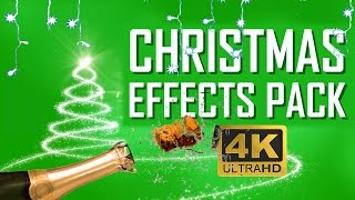 Christmas & New Year - Green Screen Pack 4K Download Free