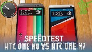 [Review dạo] Speedtest HTC One M8 vs HTC One M7