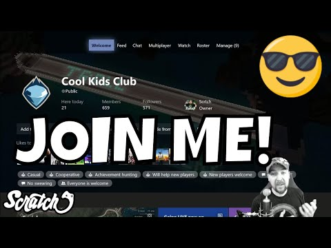Join Xbox Cool Kids Club