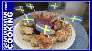 How To Make Swedish Meatballs For Appetizers Or As A Main Dish. - Svenska Köttbullar
