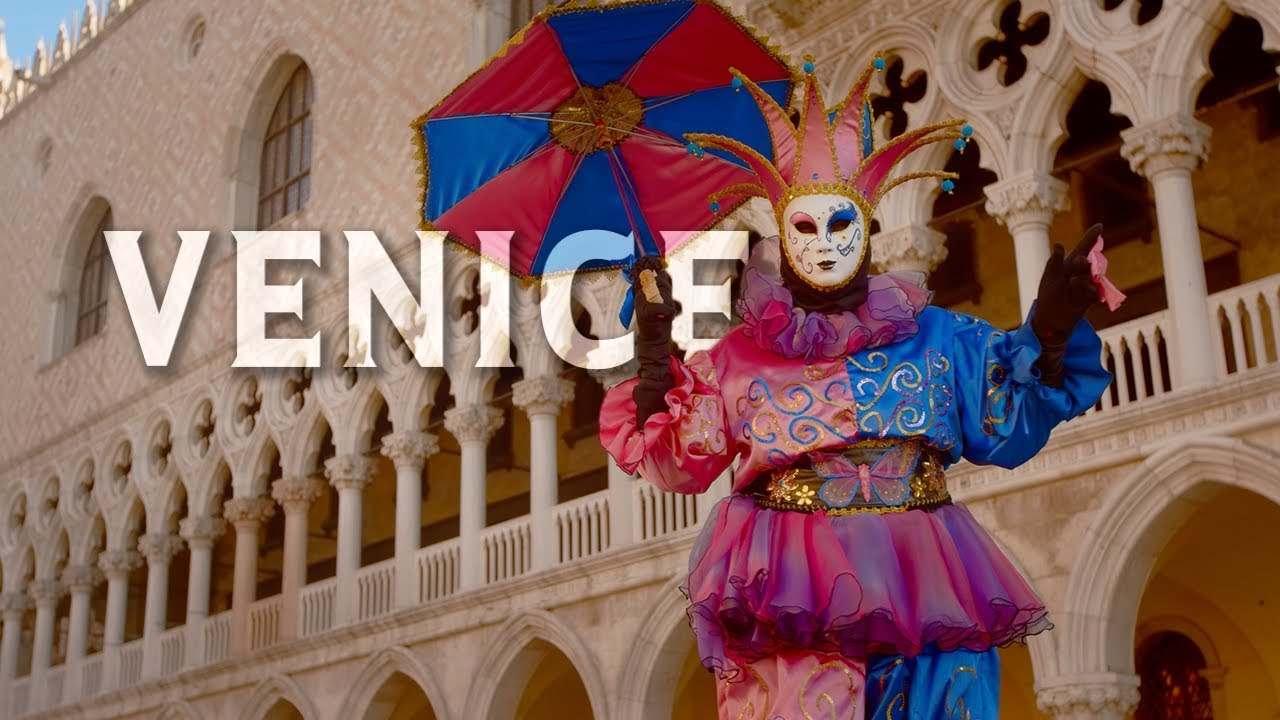 Venice Carnival In 4k Hdr 60p Uhd