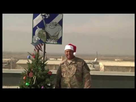 Shoutouts: Happy Holidays from Bagram Airfield, Afghanistan 2014
