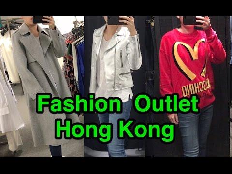 Shopping Vlog: Fashion Outlet Hong Kong
