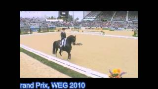 TOTILAS& EDWARD GAL- WEG 2010 GRAND PRIX DRESSAGE KENTUCKY