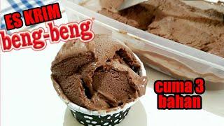 CARA MEMBUAT ES KRIM CUMA 3 BAHAN | ES KRIM BENG-BENG