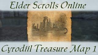 Cyrodiil Treasure Map 1 [Elder Scrolls Online ESO]