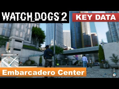 Watch Dogs 2 - Key Data in Embarcadero Center / Engine Override skill