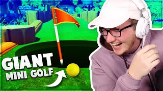 The HOLE Is The ENTIRE MAP?? - Mini Golf