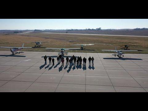 "Nebraska Pilots Group ""impromptu fly-in"""