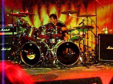 Gamma Ray Daniel Zimmerman Drum Solo 2-3-2011 Chicago Reggies
