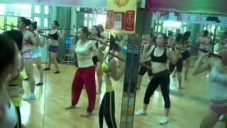 aerobics the duc tham my bai gay ngan voi nhac viet