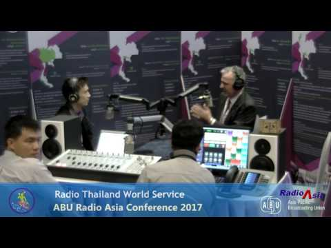 RADIO THAILAND FM 88 @RadioAsia2017 27 April 2017 03.49 PM BKK. TIME