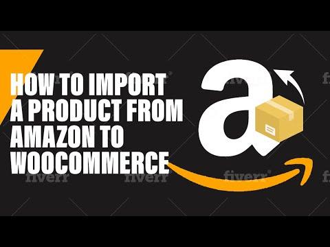 Woocommerce Amazon Dropshipping [wooshark] [version 1] - YouTube