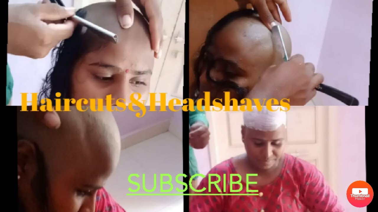 Download !!! Indian Housewife Getting Headshave At Home By Barber !!!