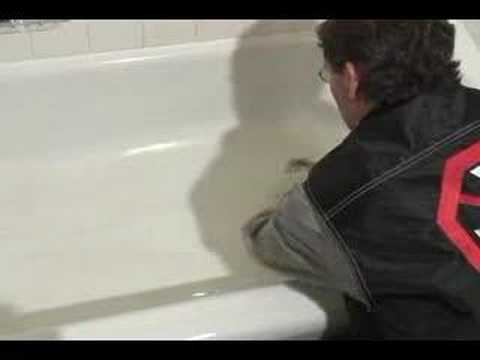 Anti Slip Bathtub Treatment Youtube