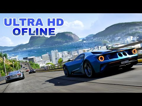 Top 10 Ultra HD Car Racing Games For Android & IOS | Under 300MB [AndiosGames]