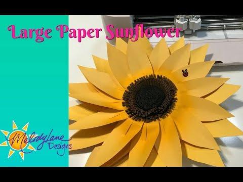 Big Paper Sunflower