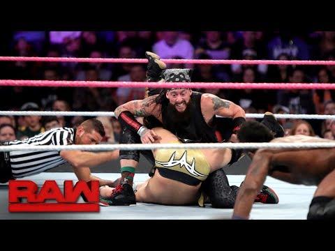 Team Lucha Lucha vs The Zo Train  10Man Tag Team Match: Raw, Oct 23, 2017