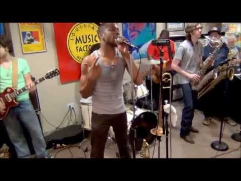 Trombone Shorty & Orleans Avenue @ Louisiana Music Factory JazzFest 2014