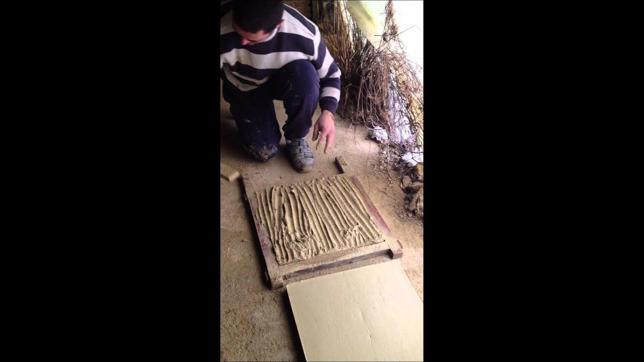 fabrication des carreaux de gironde fait main - youtube