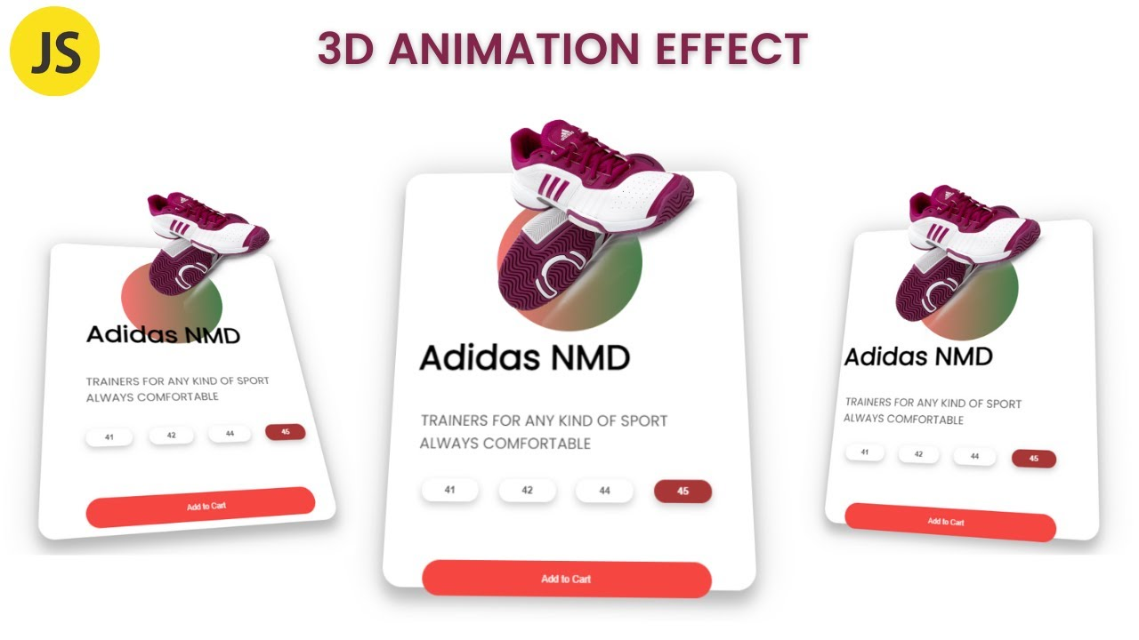 Create Awesome 3D Animation With Javascript Tutorial!