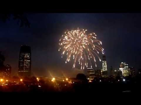 Independence Day Freedom Fireworks Festival 2016 - Jersey City - Liberty State Park