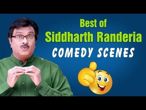 Best of Siddharth Randeria - GUJJUBHAI 's Comedy Scenes- from Gujarati Comedy Natak 2018