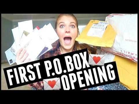 I Have Some Explaining To Do & P.O. Box Opening!!