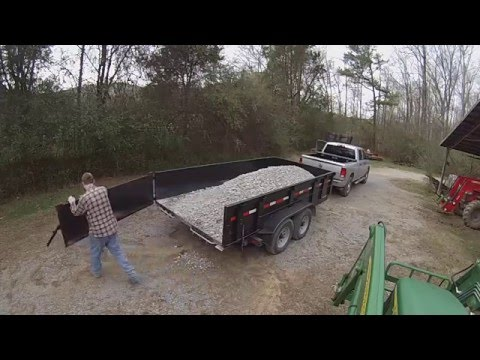 Lawrimore 7x14 Dump Trailer