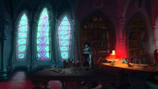 """A Vampyre Story"", full HD walkthrough, Part 13 - Pyewacket dialogue, Baroness"