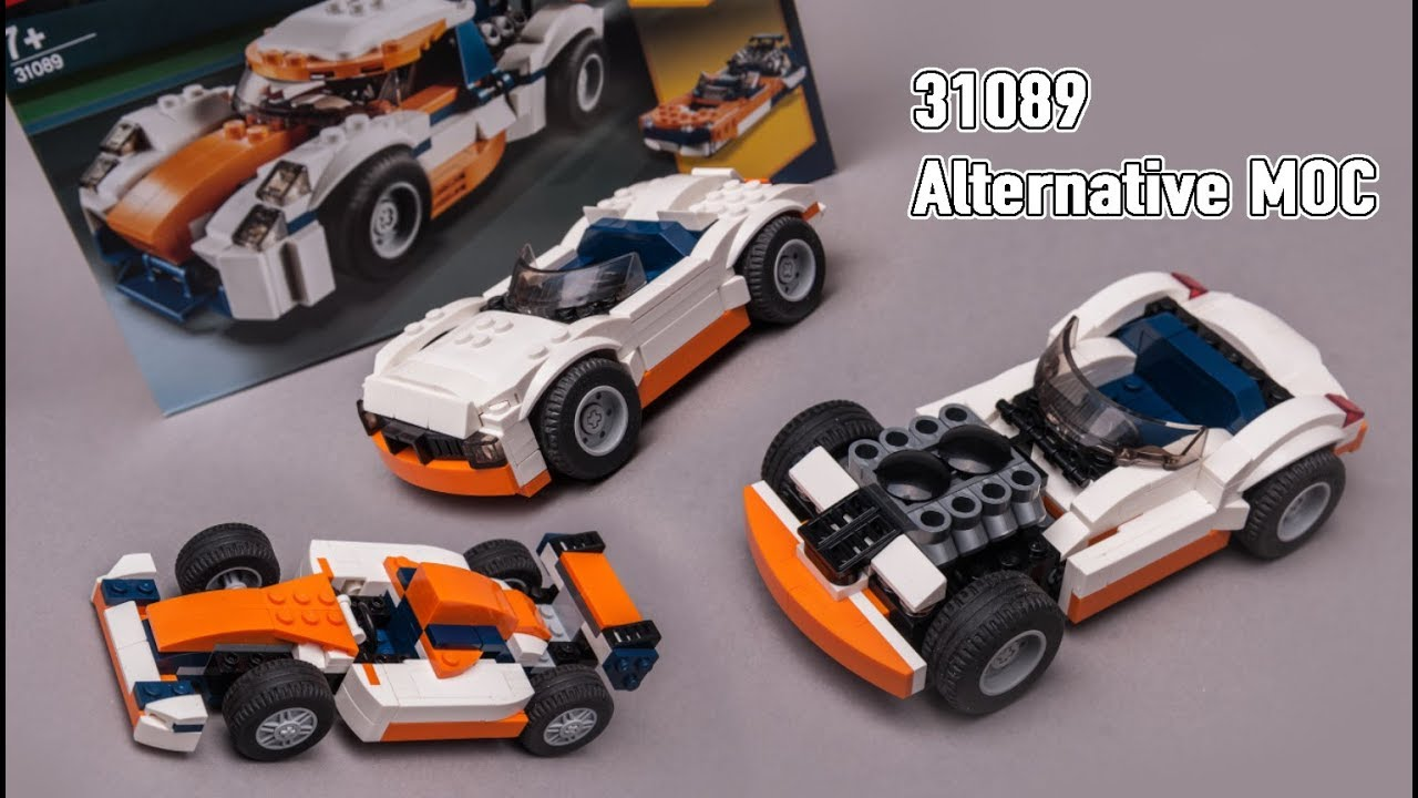 3 NEW LEGO 31089 alternative build moc review