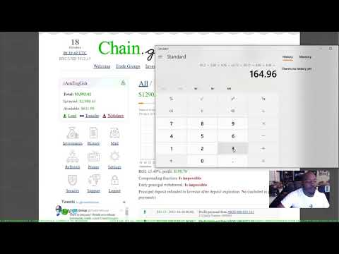 🎥AN ENGLISH PAYDAY: $3,343.81 Earned w/ BITPETITE I BITCONNECT I CHAIN-GROUP I COINREUM