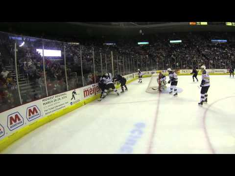 CYCLONES TV: Between the Boards - GoPro Referee Cam